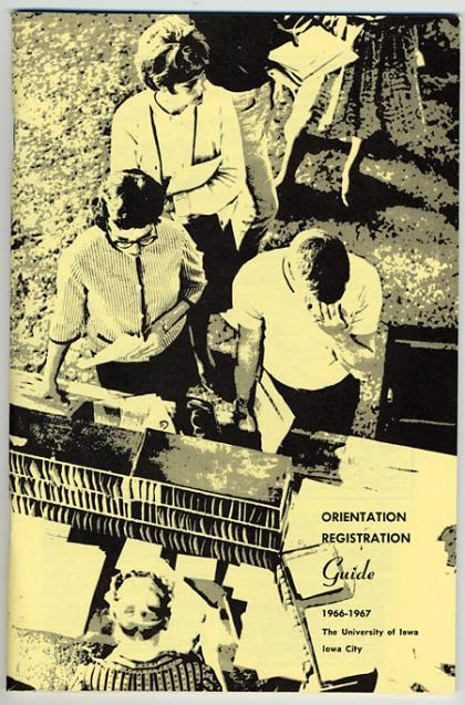 Orientation Registration Guide cover, 1966