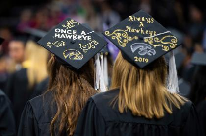 About 1,800 students will participate in fall 2019 commencement ceremonies.