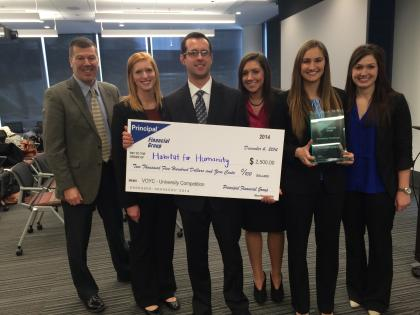 Winners of the Voice of the Young Consumer University Partnership Competition