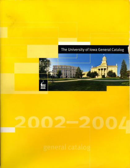 Cover of 2002-04 general catlog