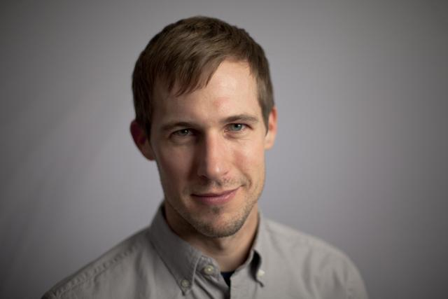 Portrait of UI film studies graduate Spencer Gillis