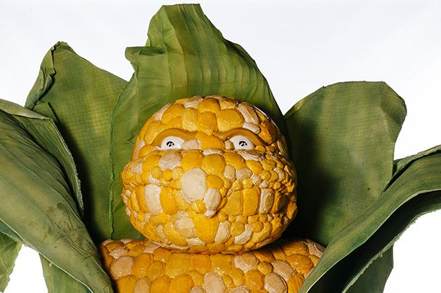 herky of the corn face