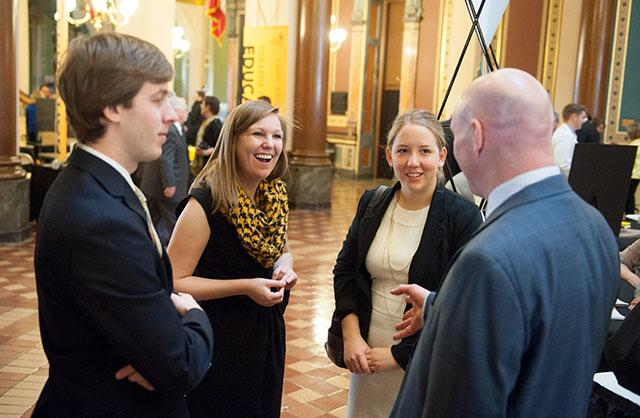 UI students talk to Rep. Dave Jacoby