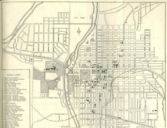 1919 campus map