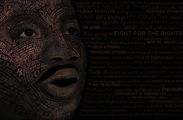 MLK Celebration poster illustration