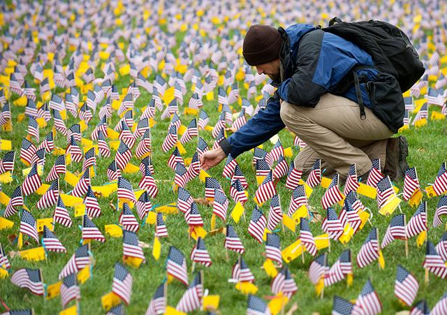 Zach Carter examines flags