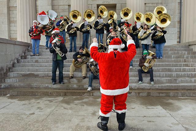 Holiday Tubas