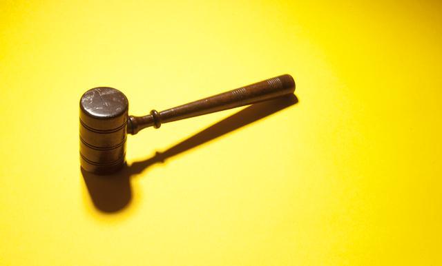 Illustration of a gavel