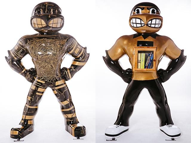 C(Herk)itry and UNESCO Herky statues