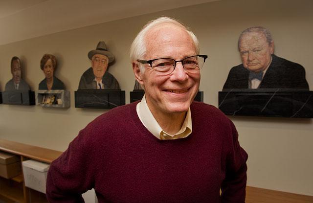 Portrait of Jim Leach