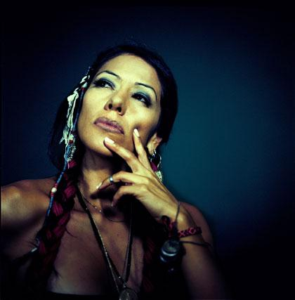 Vocalist Lila Downs