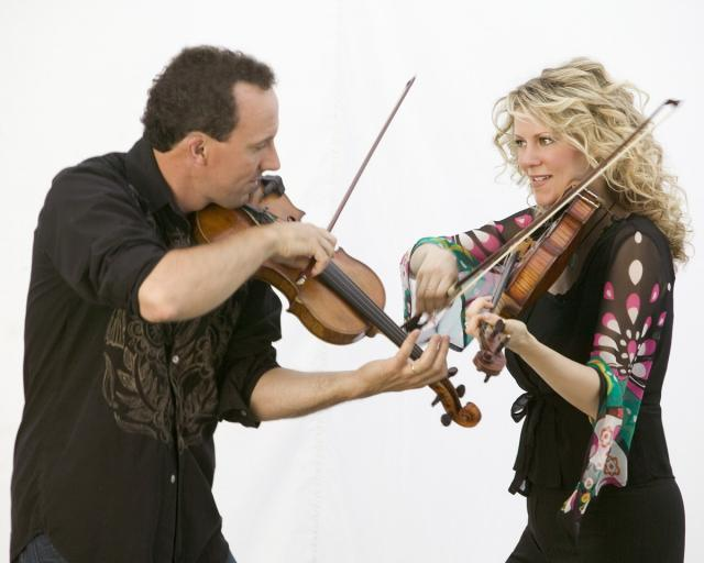 Donnell Leahy and Natalie MacMaster