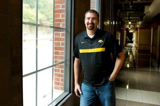 Brian Miller at IIHR