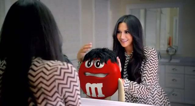 m&m commercial