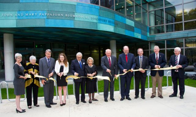 John and Mary Pappajohn Biomedical Discovery Building
