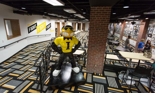 The Hawkeye room in the ground floor of the IMU