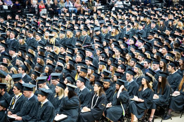 lots of graduates