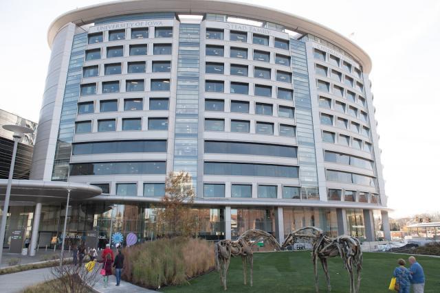 children's hospital exterior shot