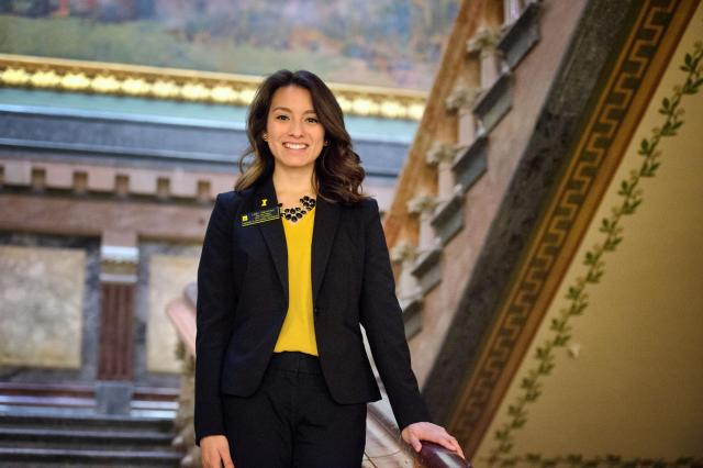 Lilian Sanchez in capitol