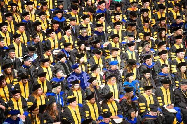 More than 5,000 students will participate in Spring 2019 commencement exercises.