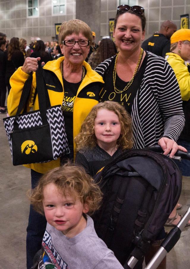 Photos of Hawkeye family