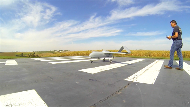 Drone research underway at UI's Operator Performance Laboratory