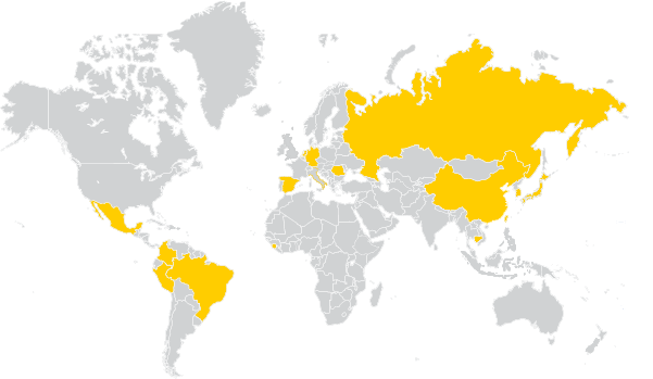 fulbright 2019 map