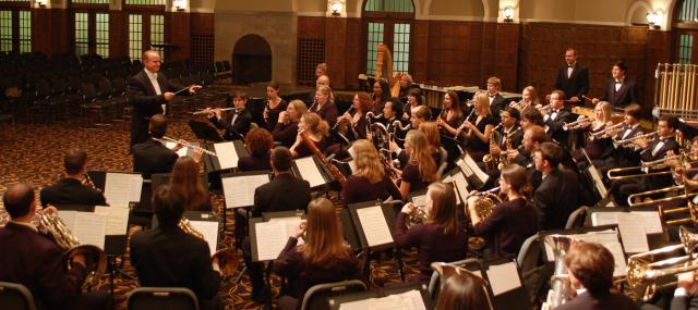 Symphony band performance