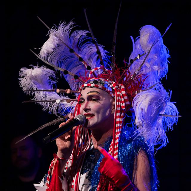 taylor mac in stage costume