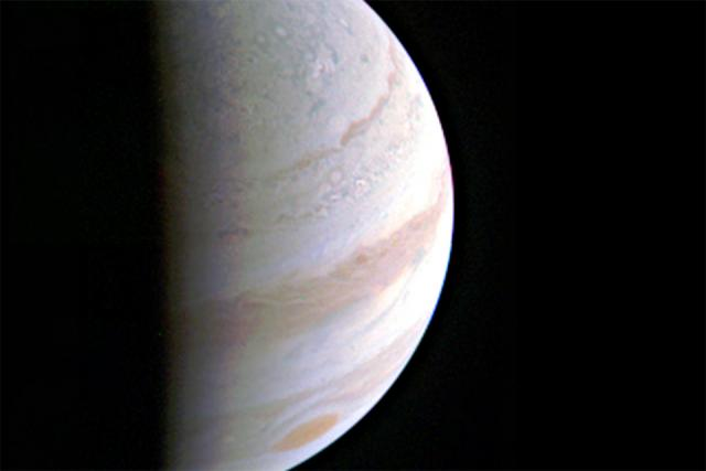 image of jupiter from Juno