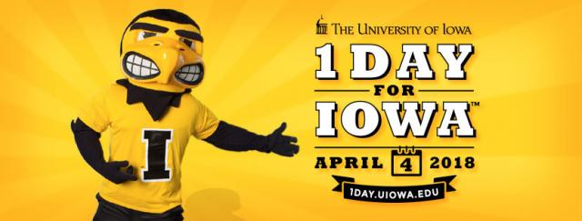 One Day for Iowa graphic