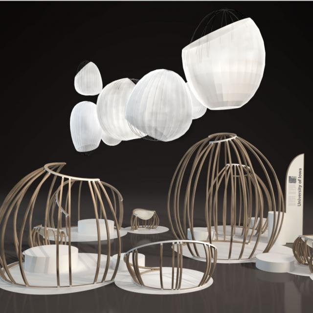 """""""Ecosystem in the Design Processes,"""" an exhibition by the University of Iowa 3-D Design program"""