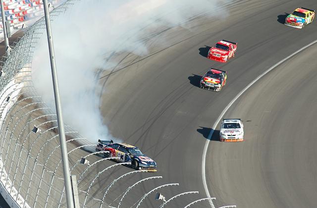 auto racing crash