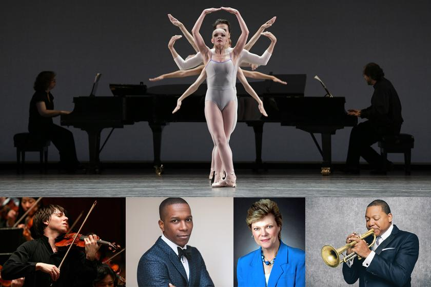 array of performers for hancher's 2017-18 season