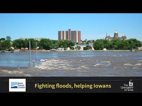 Fighting floods, helping Iowans: The UI Iowa Flood Center