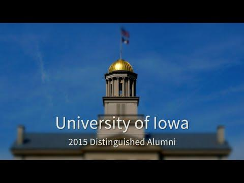 University of Iowa 2015 Distinguished Alumni