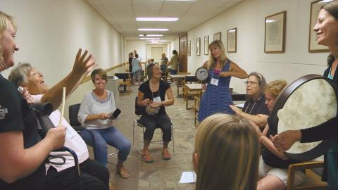 Drumming up new teaching techniques at the University of Iowa