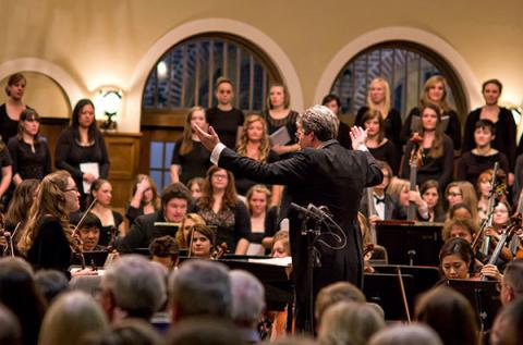 Symphony and Choirs