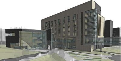 Collge of Pharmacy rendering