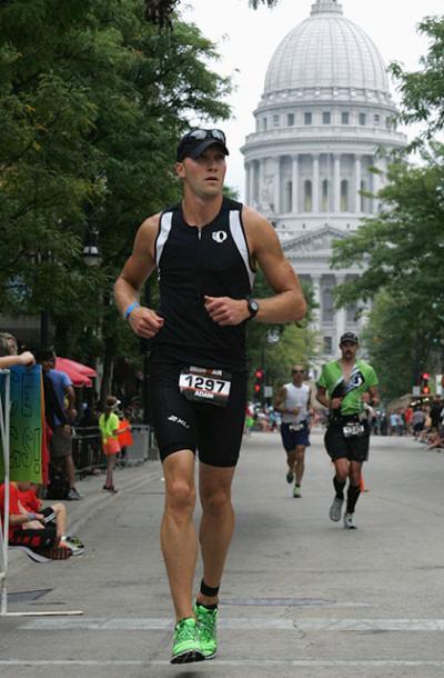 Adam Haluska running