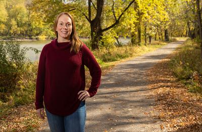University of Iowa staff member Kelly Clougher