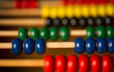 Colorful abacus.
