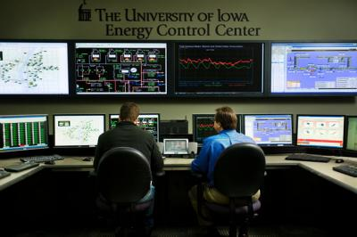 UI energy control center