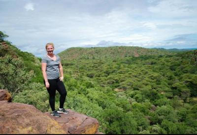 UI student Haley Church studying abroad in Botswana