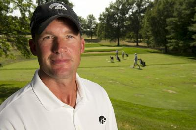 UI golf coach Mark Hankins