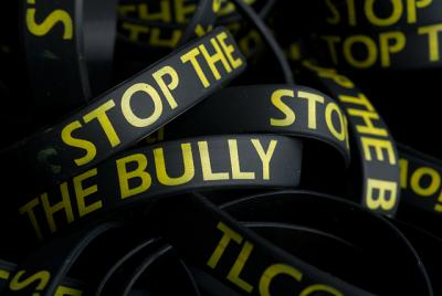wristbands that say stop the bully