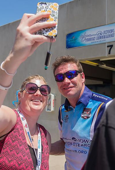 Buddy Lazier at the Indy 500