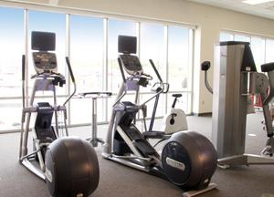 CHAMPS workout facility at Iowa River Landing clinic