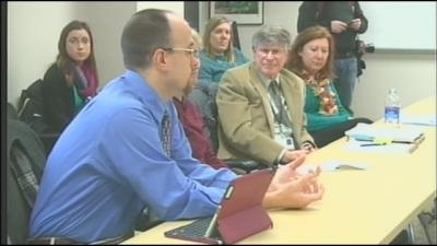 John Hosp participates in roundtable discussion on mental health care in Iowa