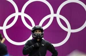 Lolo Jones at Winter Olympics
